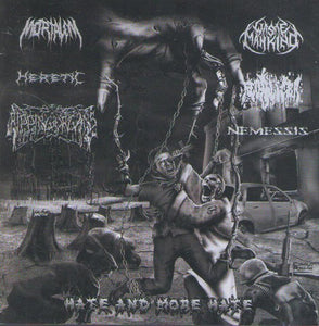 Hate And More Hate - Split CD