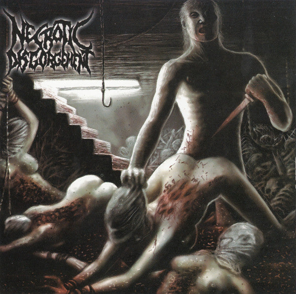 Necrotic Disgorgement - Suffocated In Shrinkwrap