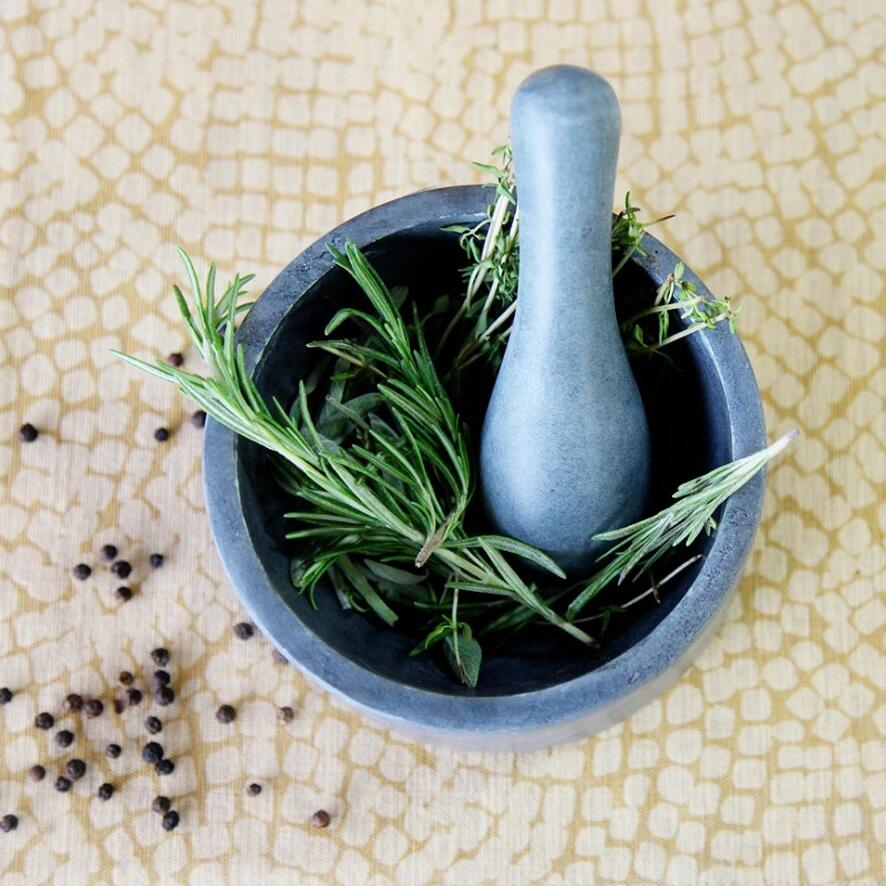 SPARQ MORTAR & PESTLE - SPHERE (MEDIUM) #STK020