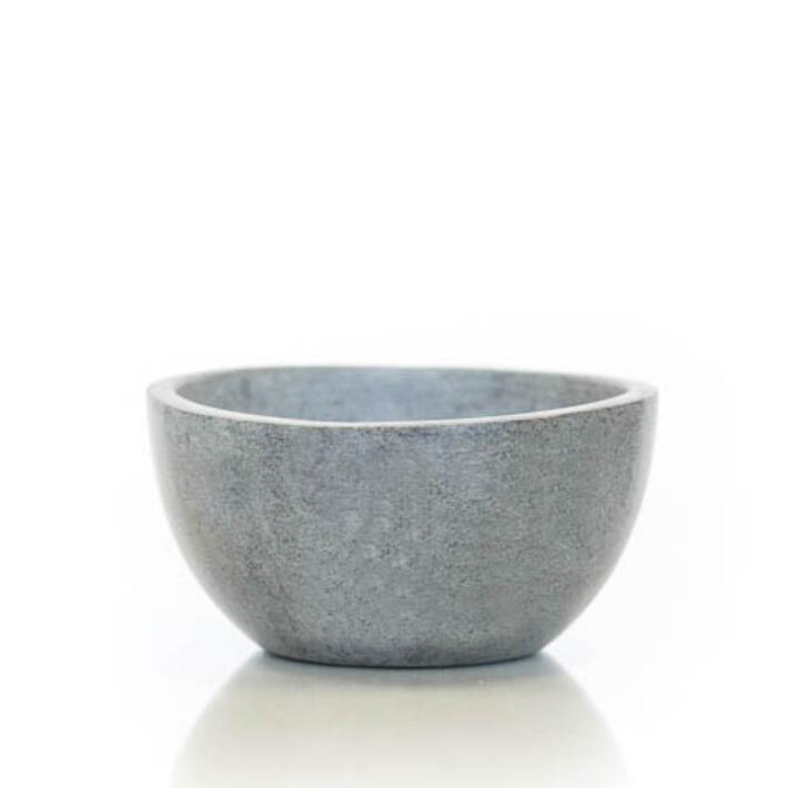 Soapstone Tiny Bowl Series - Slant (Set of 3) #STK038