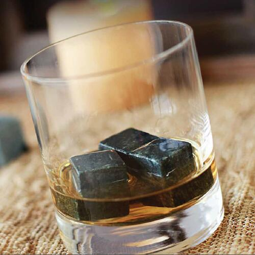 Soapstone Whiskey Rocks, Set of 12 #SHR001/12