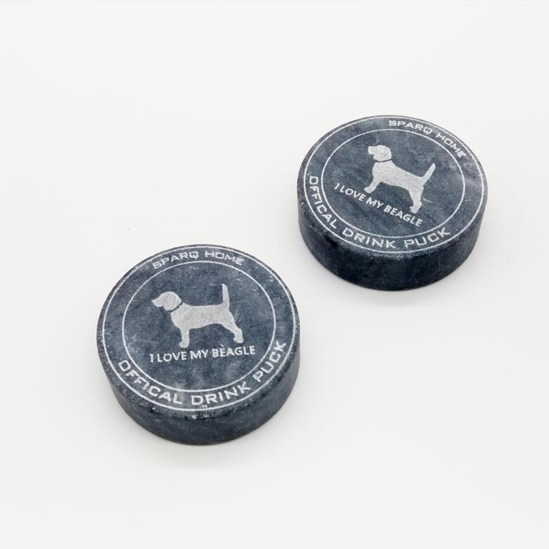 Whiskey Rocks, Beagle - Set of 3 #SHR139BP