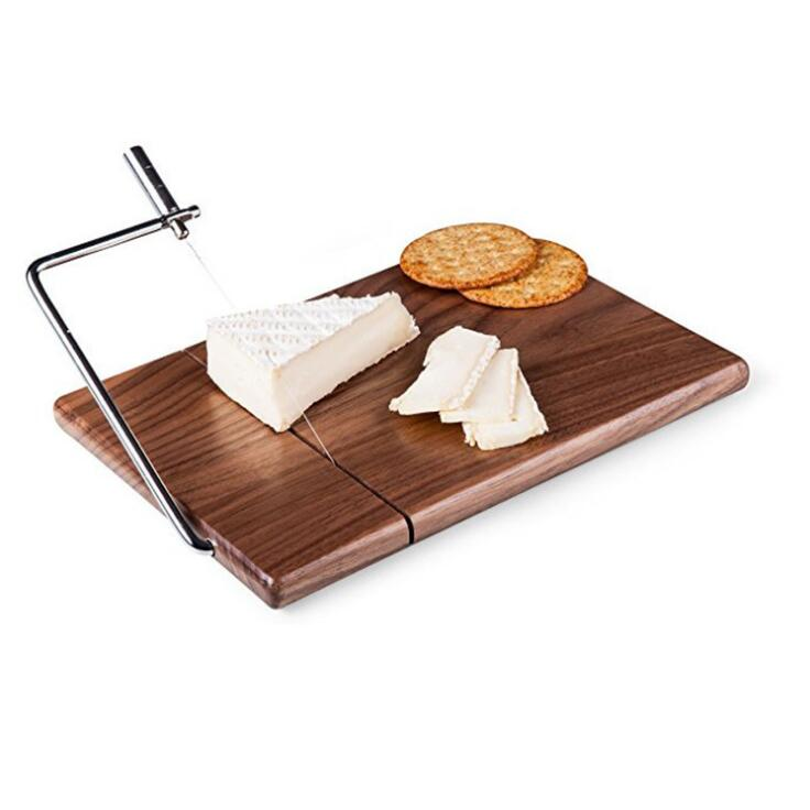 SPARQ Walnut Wood Cheese Slicer Cutter #BWC243 / #BWB243