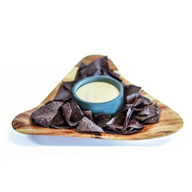 SPARQ Acaciawood Chip/Dip Platter with Soapstone Bowl #STK089C / #BWB089C