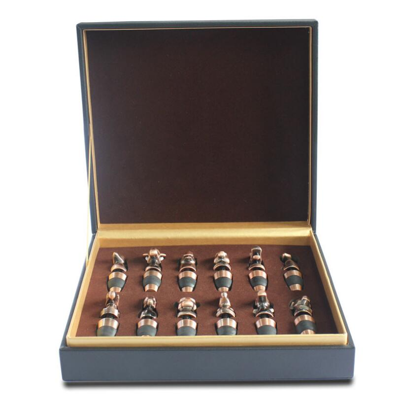 Wine Stoppers - 12 zodiac, Gift Box Set #BAR355