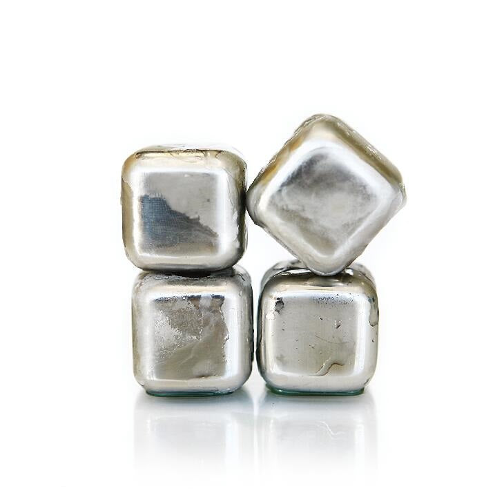Whiskey Cubes 30mm, Set of 4 #SHR009 / #BAR009