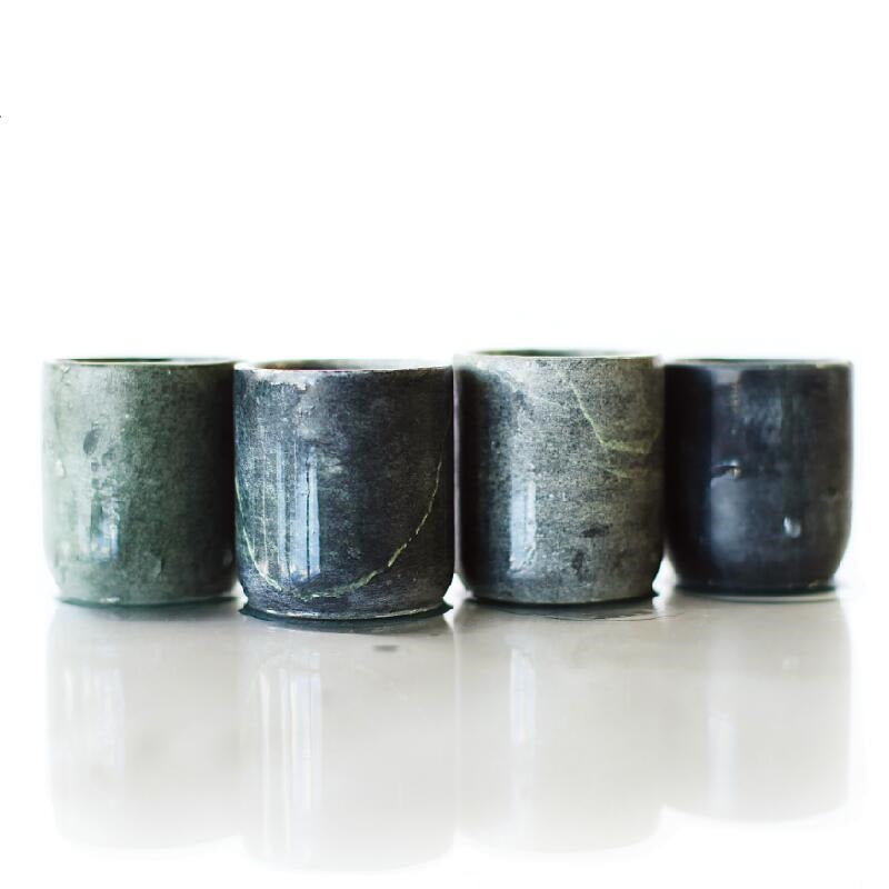 Soapstone Shot Glasses - Straight #SSG059