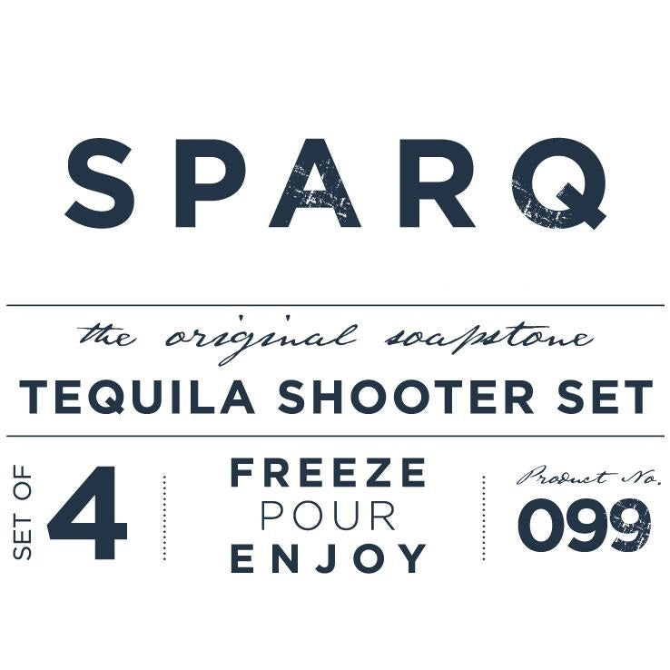 Tequila Shooters, Set of 4 #SSG099 / BWB099