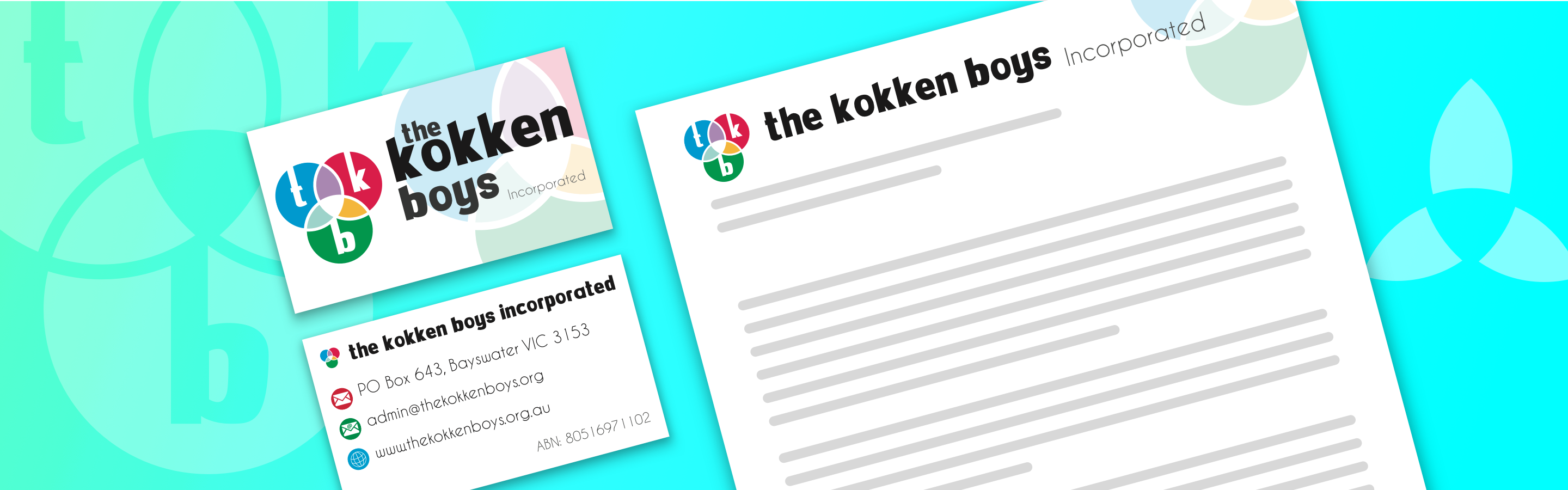 The Kokken Boys branding