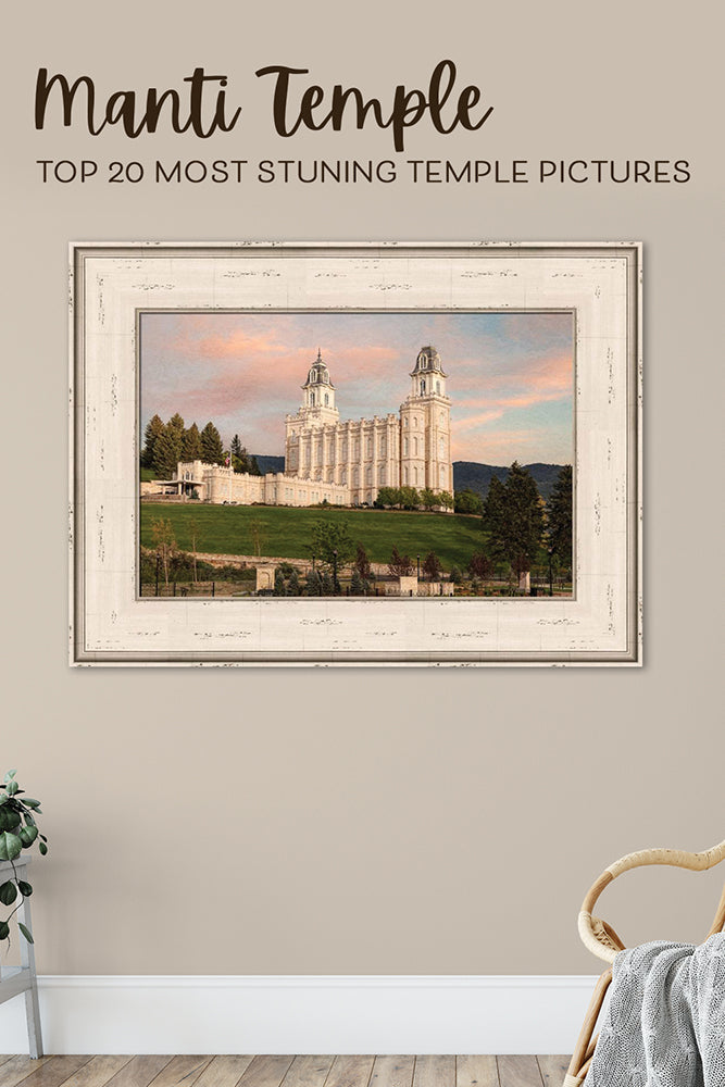 Pinterest Graphic_Top 20 Most Stunning Manti Temple Pictures