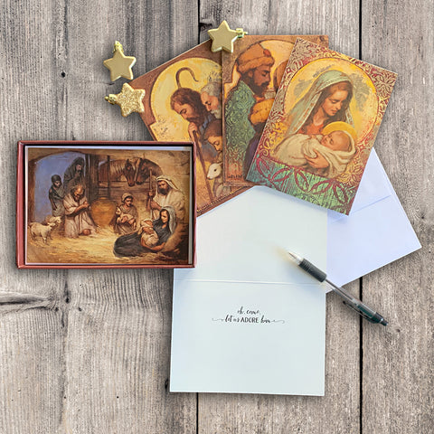 Annie Henrie Nader Christmas Greeting Card Box
