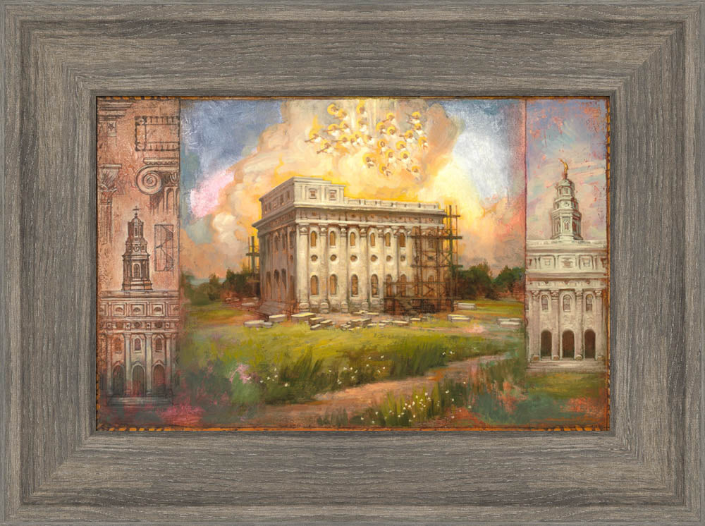 Building Nauvoo by Annie Henrie Nader