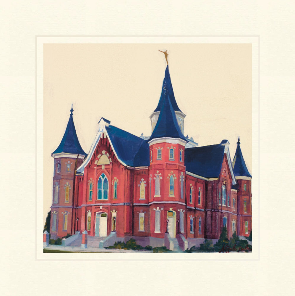 Provo City Center Temple - North East Side by Abigale Palmer