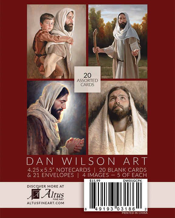 Dan Wilson Note Card Pack