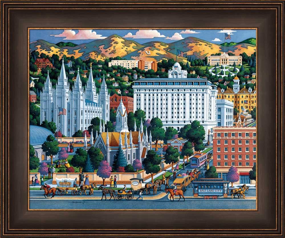 Salt Lake Temple Square by Eric Dowdle