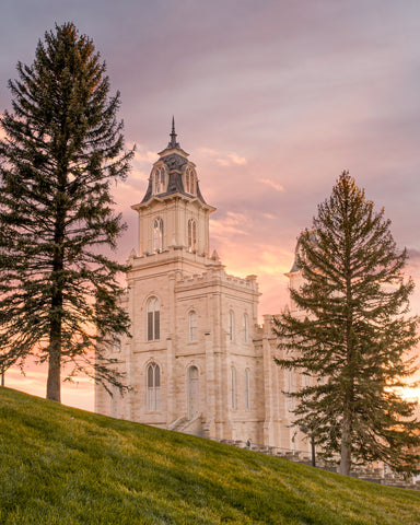 Manti Utah Temple - Eternity by Evan Lurker