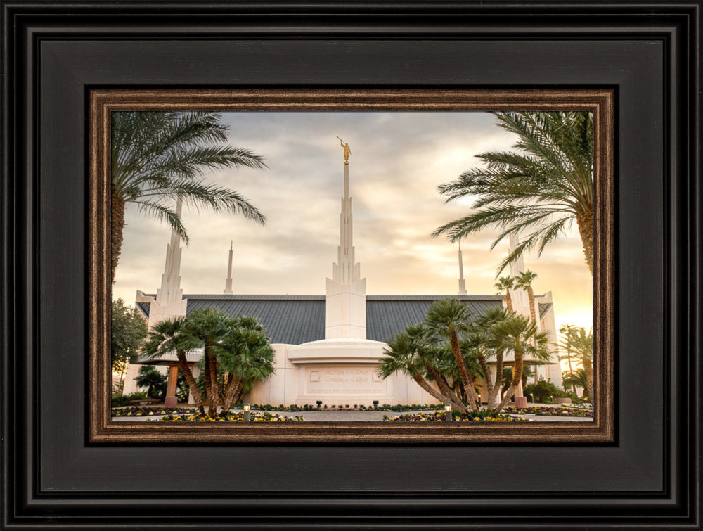 Las Vegas Nevada Temple - Serenity by Evan Lurker