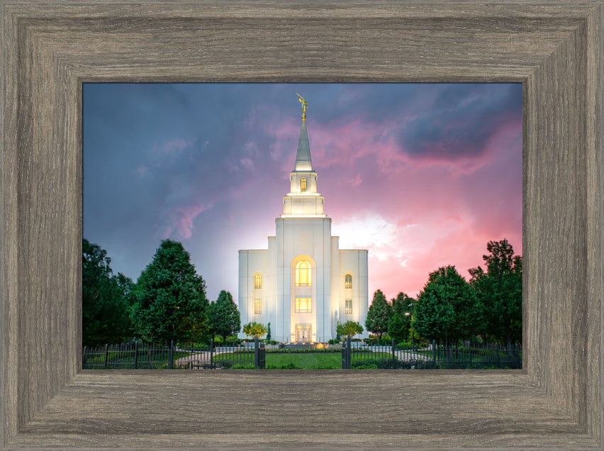 Kansas City Temple - The Storm Breaks by Evan Lurker