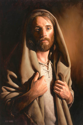 Portrait of Jesus Christ.