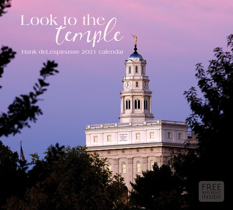 2021 Hank deLespinasse Calendar - Look to the Temple