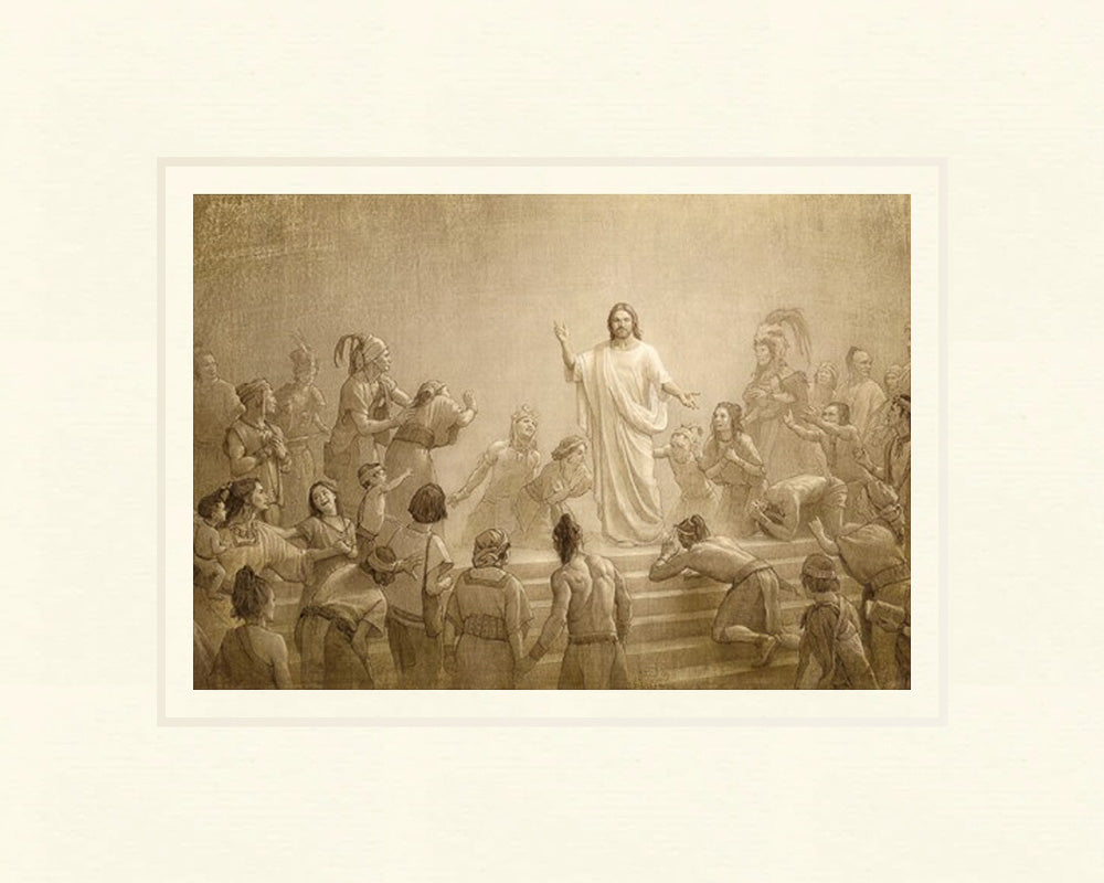 Christ in America by Joseph Brickey