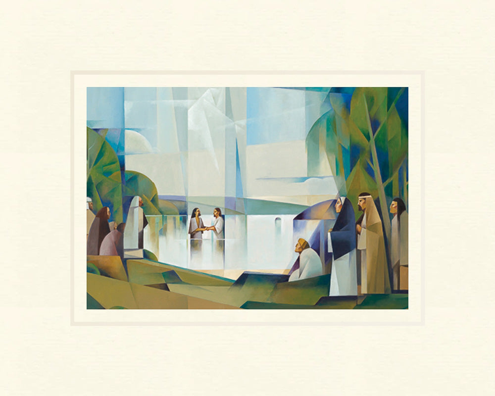 Baptism of Christ 5x7 print