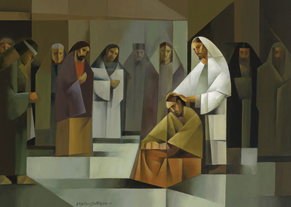Ordination of the Apostles by Jorge Cocco