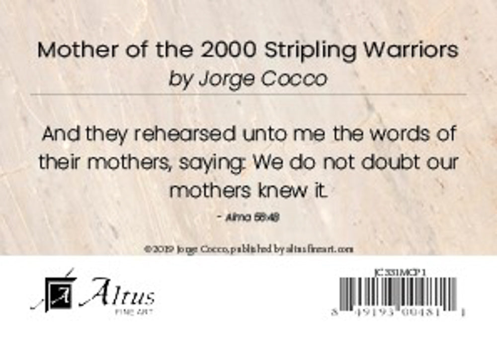 Mothers of the 2000 Stripling Warriors by Jorge Cocco