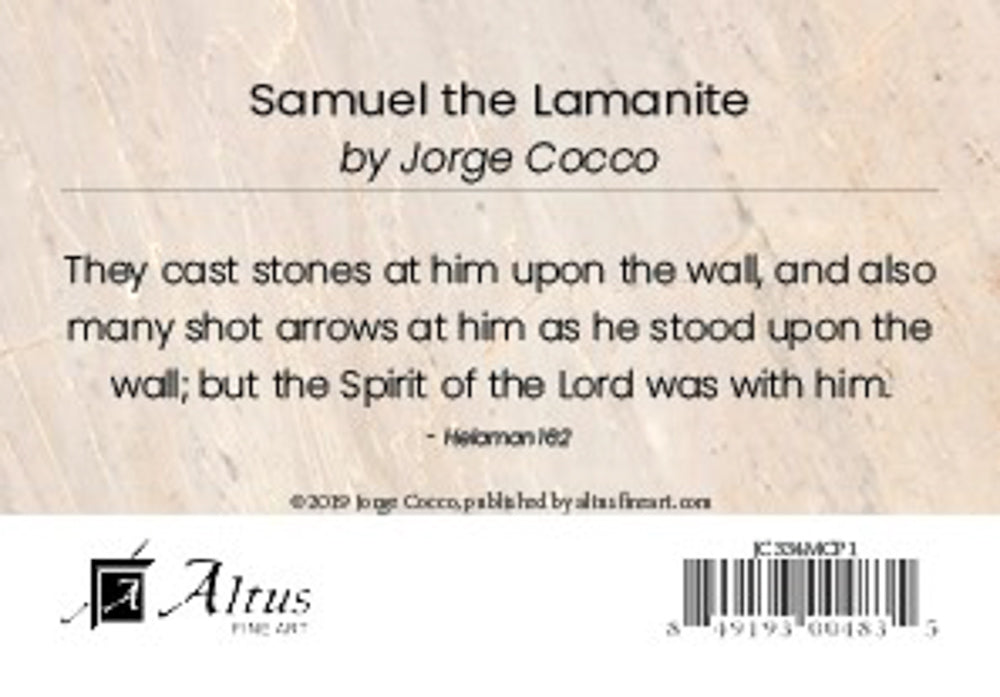 Samuel the Lamanite minicard