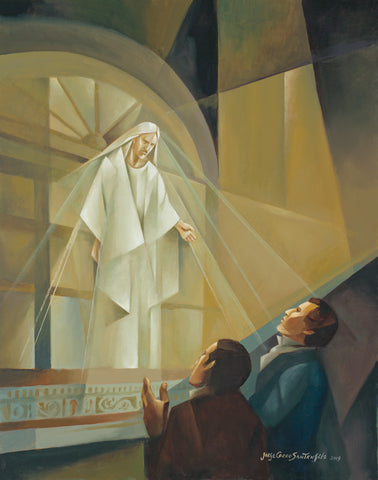 Vision at Kirtland Temple by Jorge Cocco