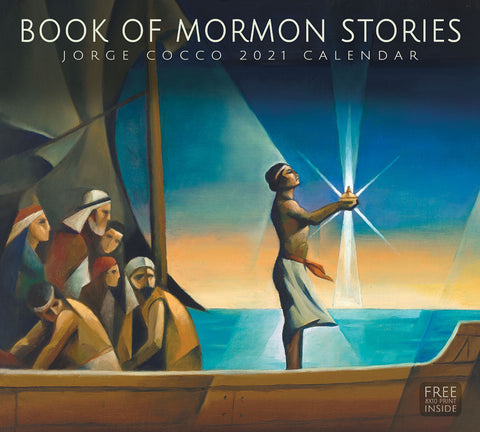 2021 Jorge Cocco Calendar - Book of Mormon Stories