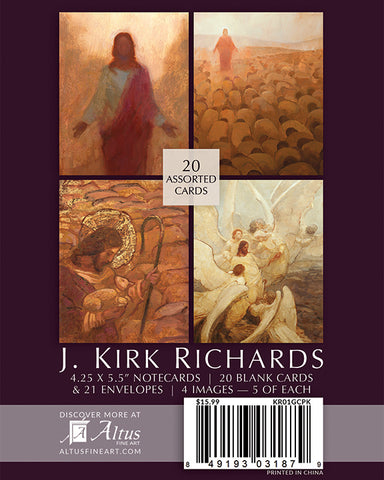 J. Kirk Richards Note Card Pack