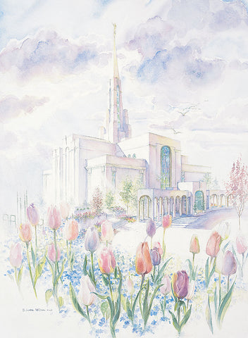 Bountiful Temple 8x10 print by Laura Wilson