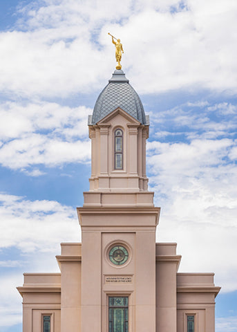 Cedar City Temple - Arrows to Heaven 5x7 print