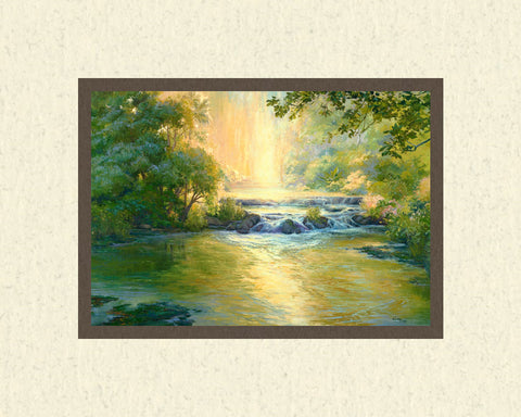 Living Waters 8x10 mat