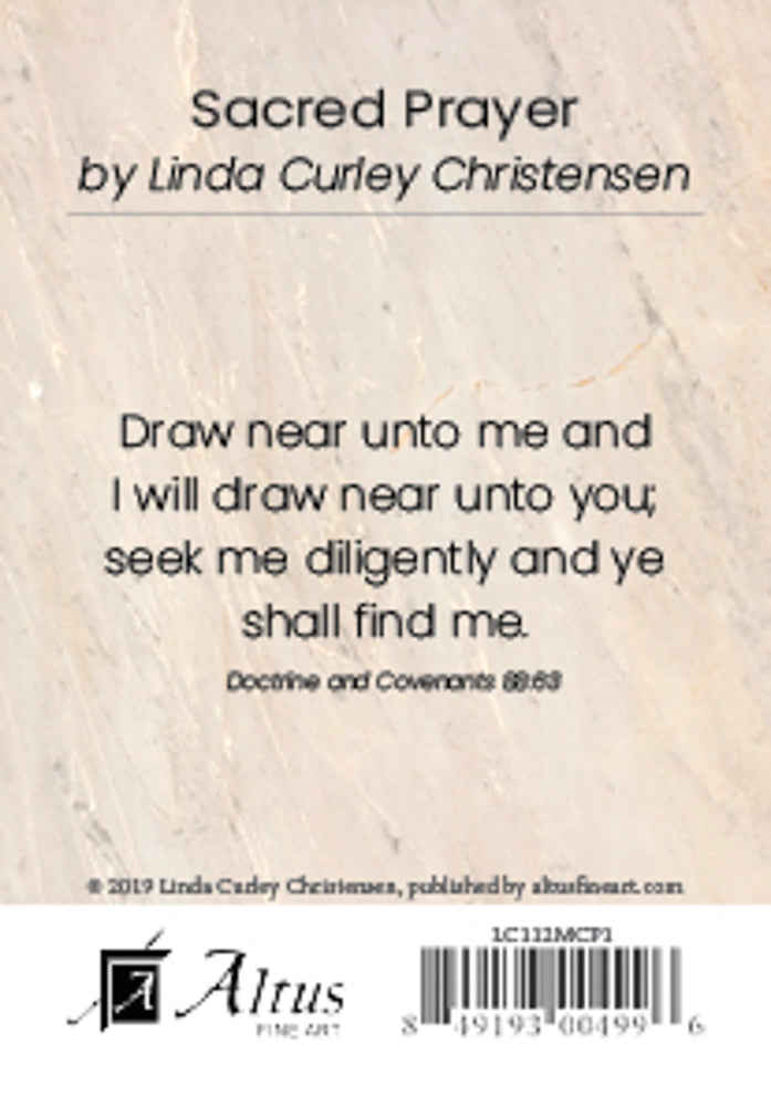 Sacred Prayer by Linda Curley Christensen