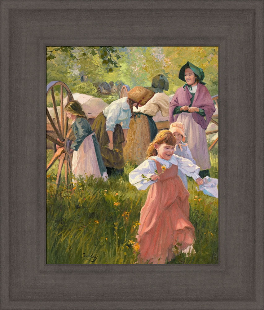 Thrill of Handcart Travel by Linda Curley Christensen