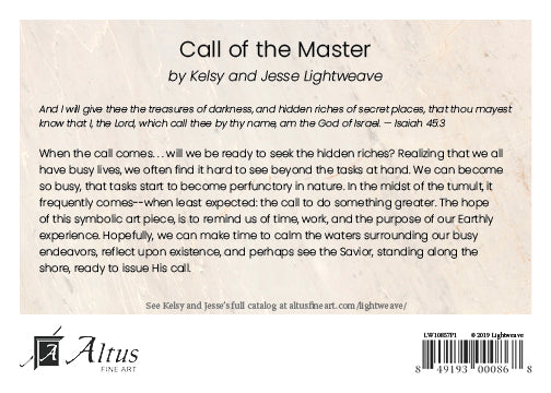 Call of the Master by Kelsy and Jesse Lightweave