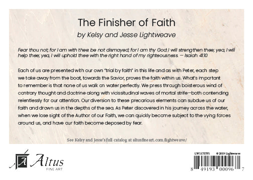 The Finisher of Faith by Kelsy and Jesse Lightweave