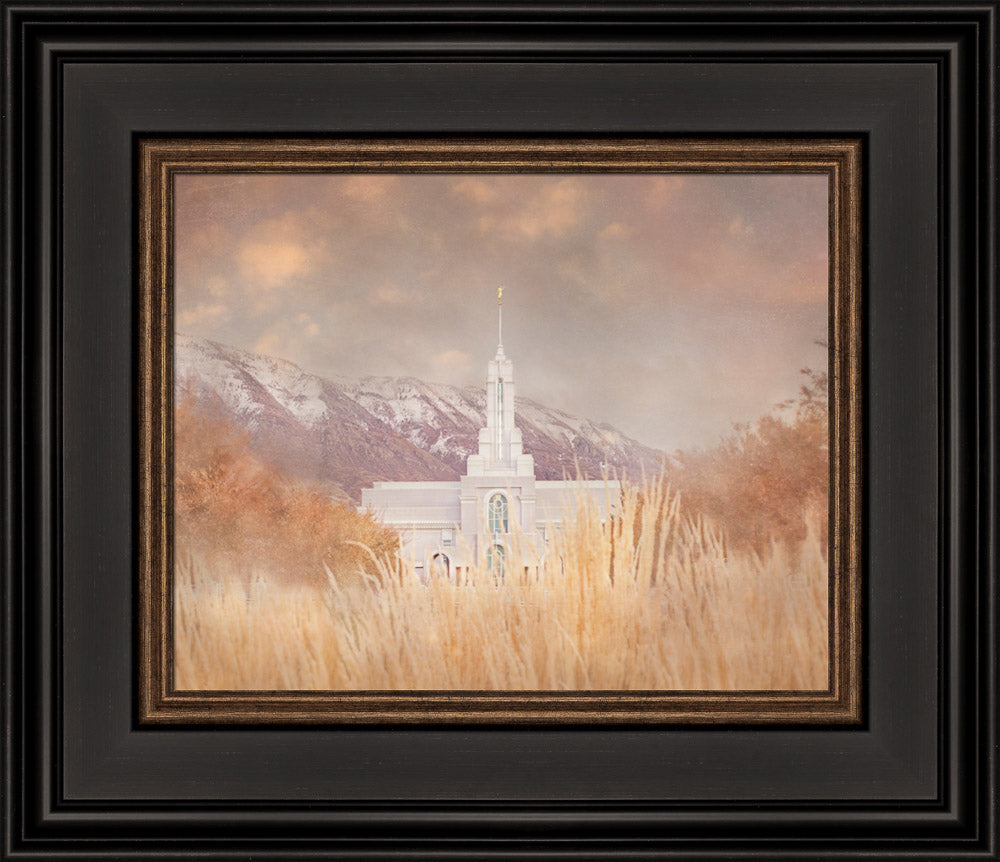 Mount Timpanogos Temple - Stillness by Mandy Jane Williams