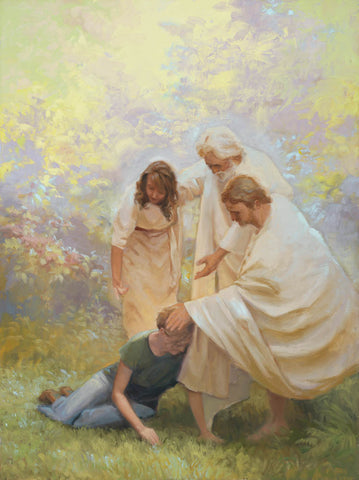 Ministering by Linda Curley Christensen