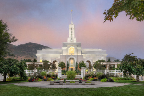 Mt Timpanogos Temple - A House of Peace by Robert A Boyd