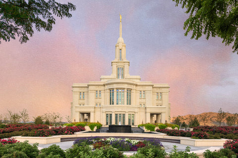 Payson Temple - A House of Peace by Robert A Boyd