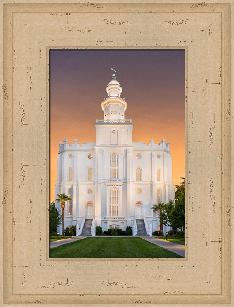 St George Temple - Amazing Grace by Robert A Boyd