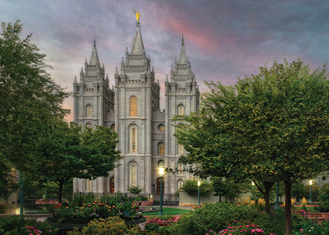 Salt Lake Temple - Eden 5x7 print