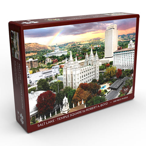 Salt Lake - Temple Square 500 Piece Puzzle