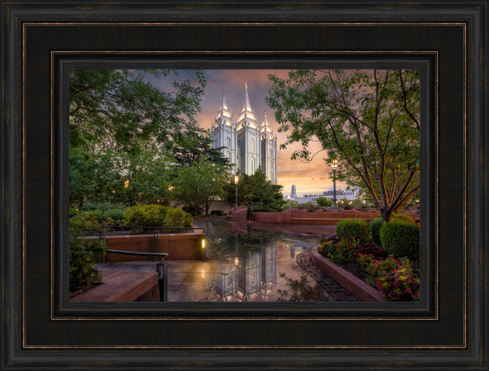 Salt Lake Temple - A Covenant People by Robert A Boyd