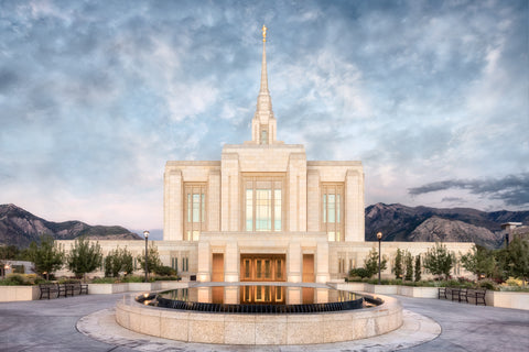 Ogden Temple - Chrome Series by Robert A Boyd