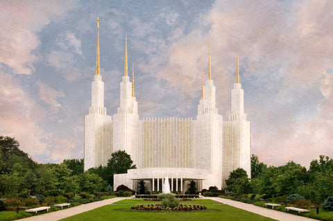 Washington DC Temple - Holy Places Series by Robert A Boyd