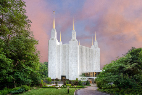 Washington DC Temple - A House of Peace by Robert A Boyd